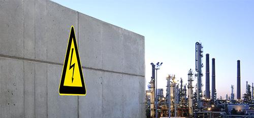 Paloilmoitinjärjestelmä öljynjalostamoon